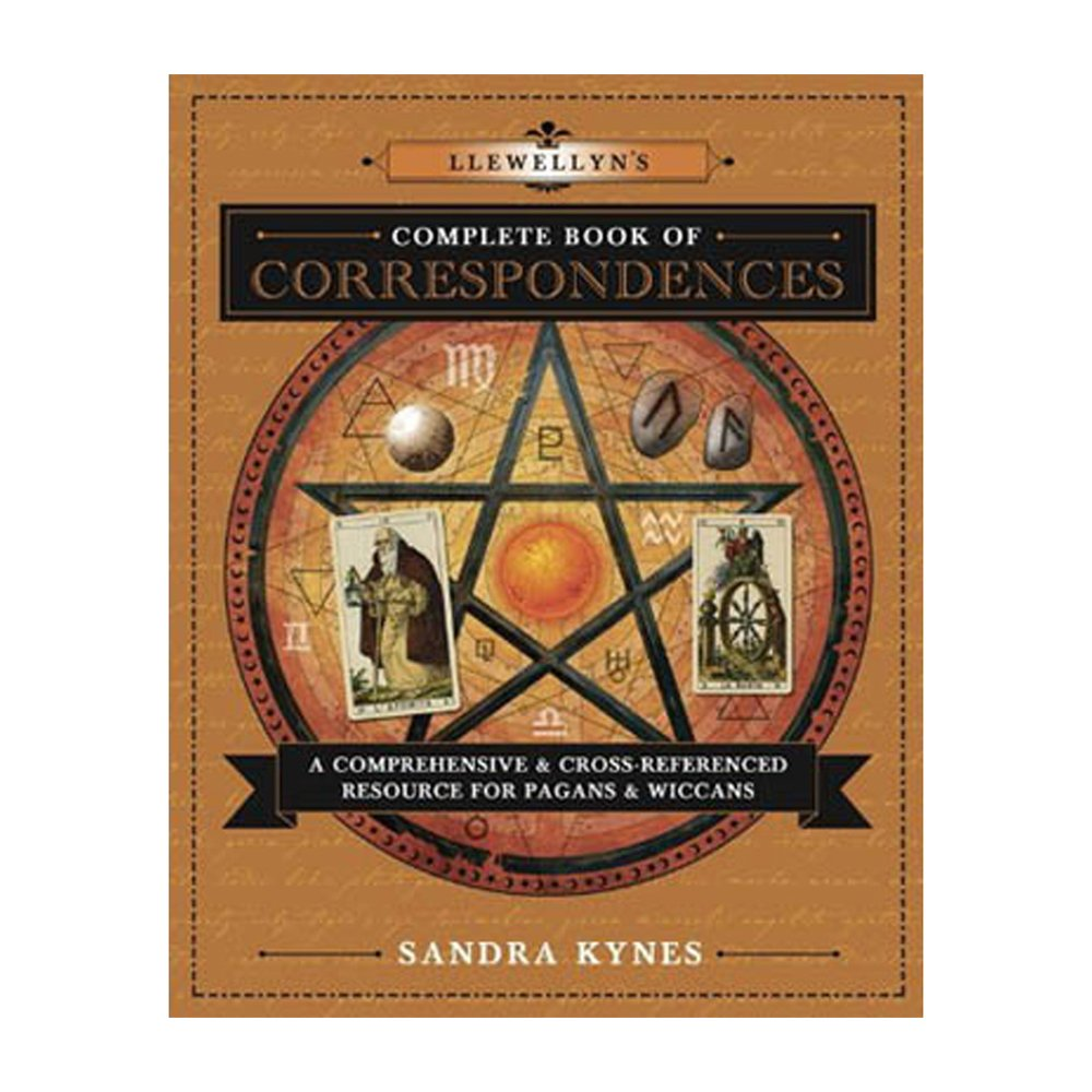 llewellyn's complete book of correspondences- 3 Books for Every Witch's Bookshelf