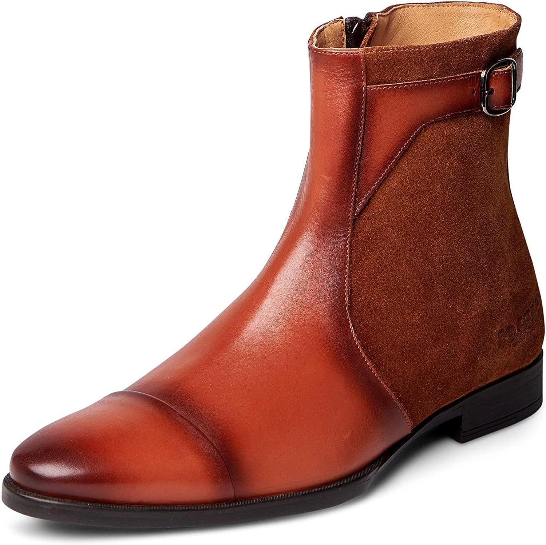 "Carlos Santana Mens Spirit Jodhpur Boot Leather Suede Casual Dress Ankle 6"""
