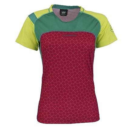 37722fb6532 Amazon.com : La Sportiva Women's Summit T-Shirt Berry/Sulphur M ...