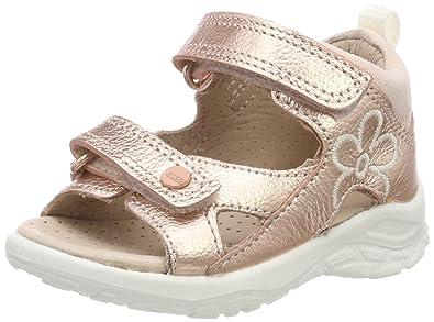 1d57a8d54ab80 ECCO Baby Girls' Peekaboo Sandals, Pink (Rose Dust 1118), ...