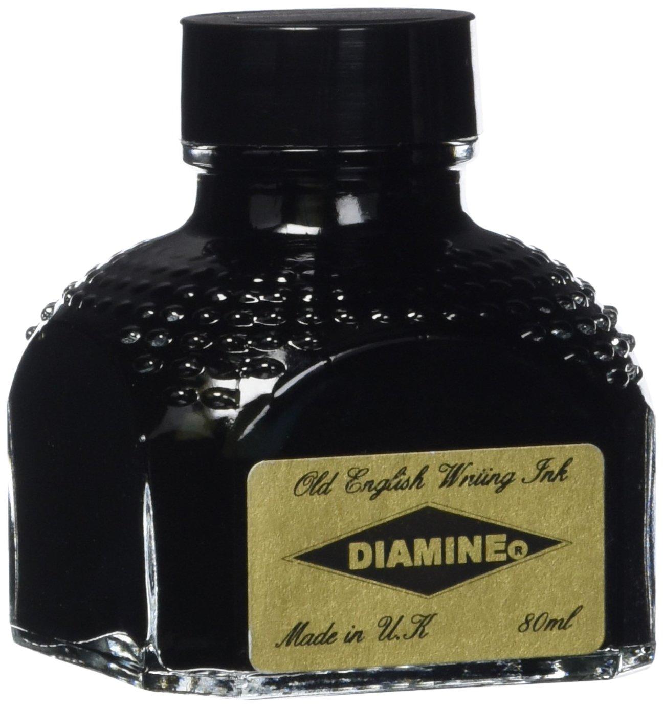Diamine Fountain Pen Ink, 80 ml Bottle, Sherwood Green