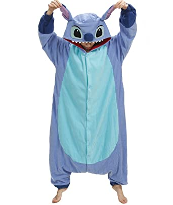2a7cde60fe Amazon.com  Stitch Pajama Costume (one size fits all)