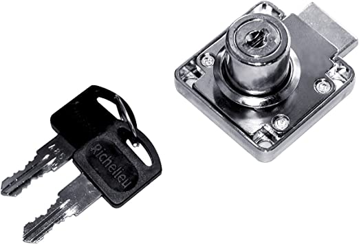 Cam Lock for Panel Thickness up to 12 mm Richelieu Hardware Single Drawer  Finish BP140700140