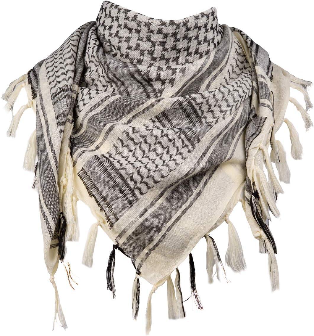 Halstuch PLO Shemagh von Brandit Palästinenser Tuch 100/% Baumwolle 110 x 110 cm