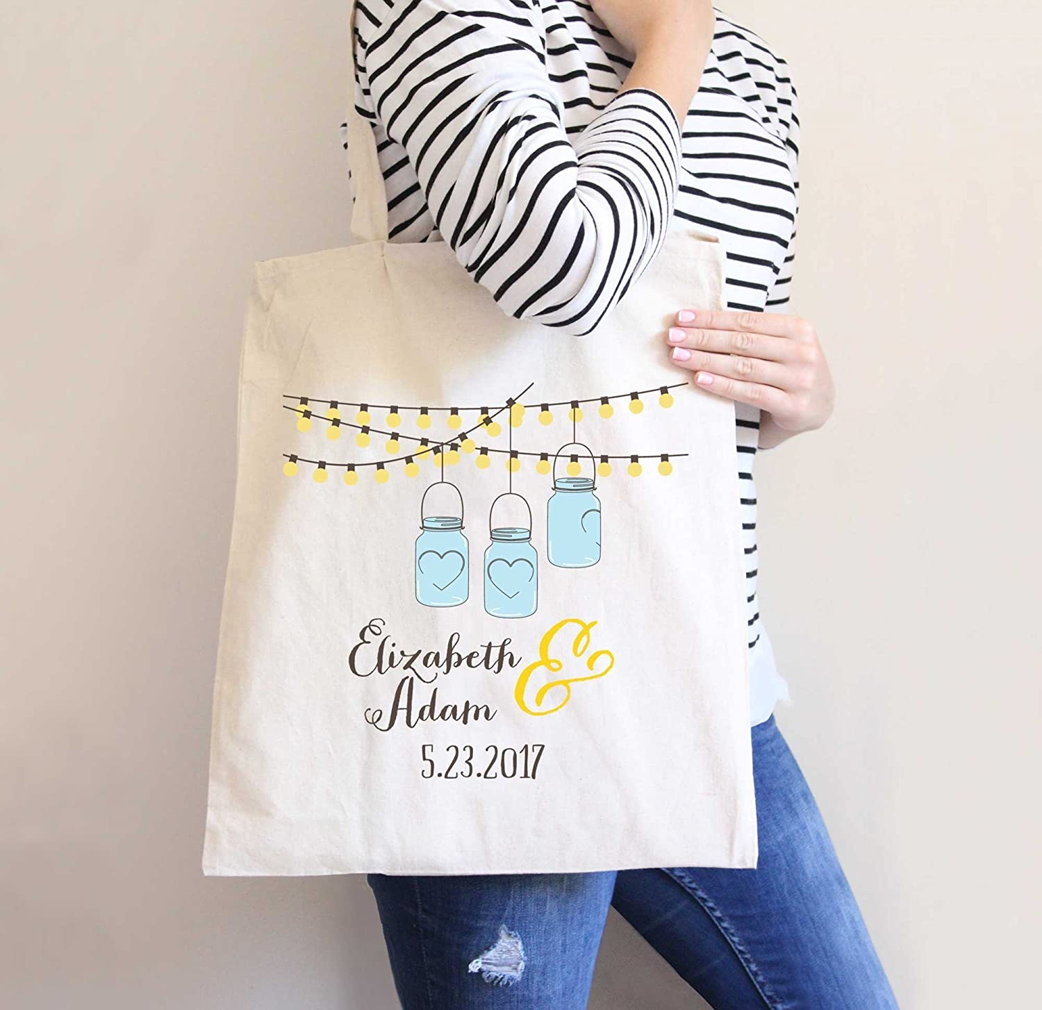 Amazon.com: Destination Wedding Tote Bags, Hotel Bags Bulk Favor ...
