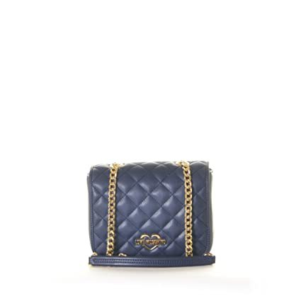 6fcbe706580 Buy Love Moschino Women's Quilted Crossbody Chain Strap Navy Crossbody Bag  Online at Low Prices in India - Amazon.in
