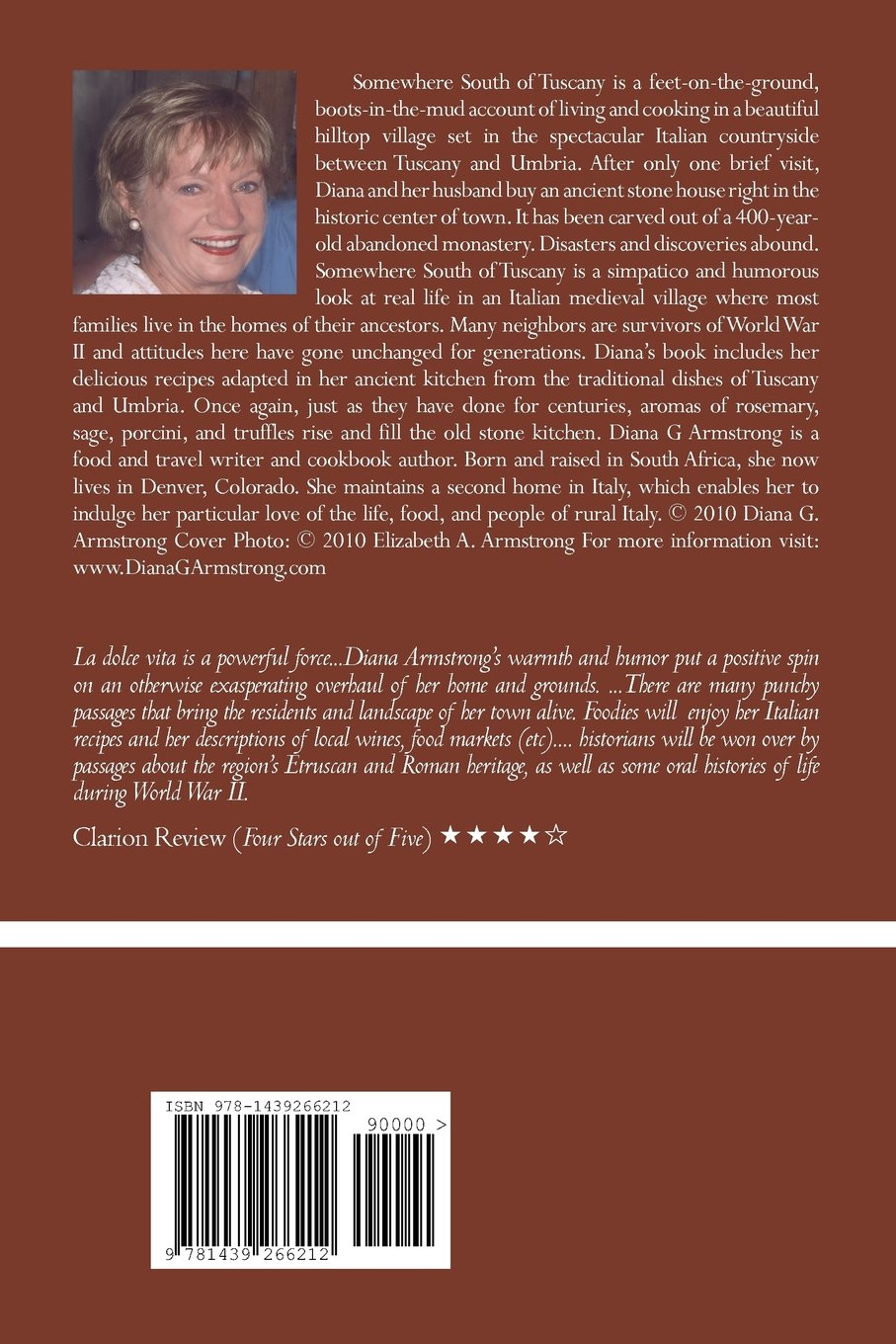 Somewhere South of Tuscany: 5 Years In a Four-Cat Town: Diana Armstrong:  9781439266212: Amazon.com: Books