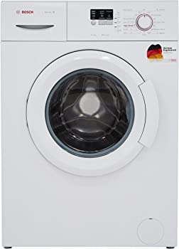 Bosch 6 kg Fully-Automatic Front Loading Washing Machine (WAB16060IN, White, Inbuilt Heater