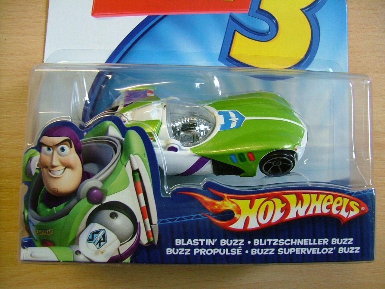 Zut HOT WHEELS Fahrzeug 'Toy Story' sortiert, ab 3 Jahren, 1:64