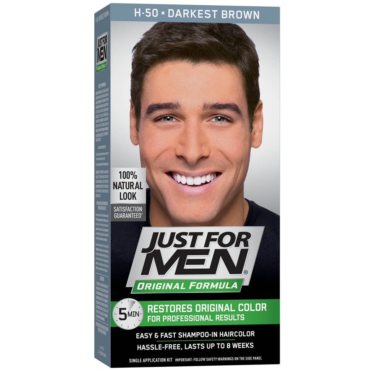 Amazon Just For Men Original Formula Mens Hair Color Darkest