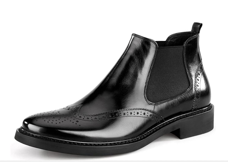 DKFJKI Herren Kurze Stiefel Aus Echtem Leder Vintage Herren Stiefel Kurze Stiefel Herren Hohe Schuhe Herren Stiefel