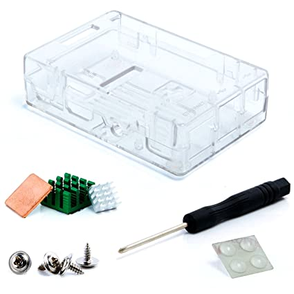 Amazon.com: Raspberry Pi 3 Case, Aukru Raspberry Pi 3 Model ...