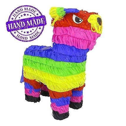Amazon.com: Original Classic Bull Toro Piñata (Arco iris ...