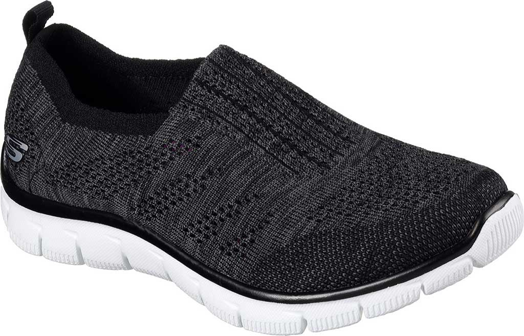 Skechers Sport Women's Empire Inside Look Fashion Sneaker B01M1XY62A 9 B(M) US|Black White