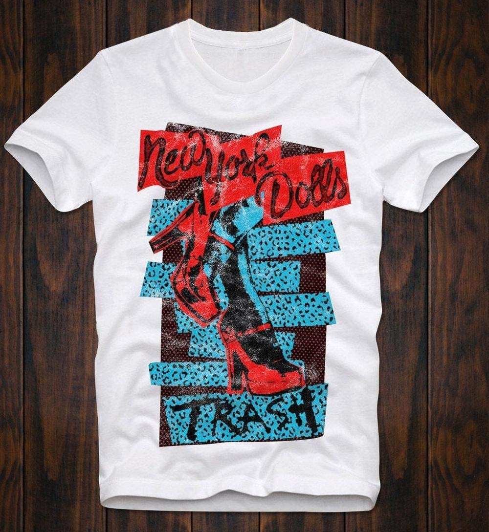 T-Shirt Punk New York Dolls T-Shirt Music Glam Rock Printed Personalized