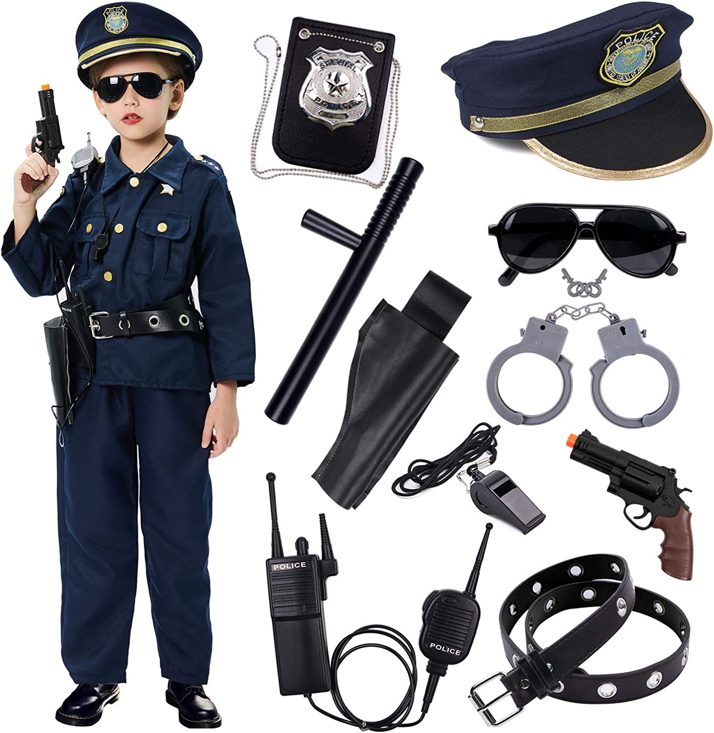 Dress Up America Childs Police Hat