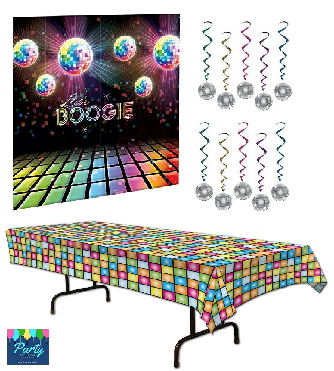 Disco Ball Party Decorations: 70's Party Decorations: Amazon.com