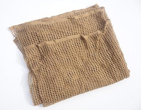 Scrim filet 100cm x 100cm, Sandy désert couleur tan foulard militaire ou net ac918bf3e68