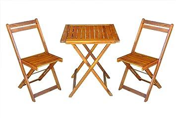 Amazonde Mcombo 3tlg Gartenset Balkonset Gartentisch Tisch Stuhl