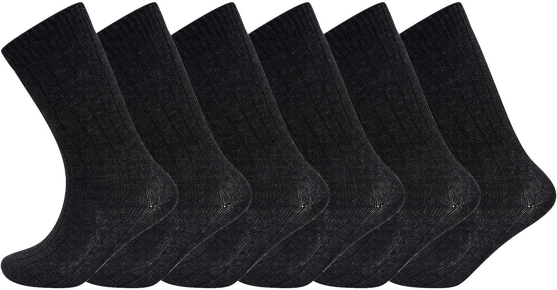 12 Pairs Mens Thermal Socks Outdoor Work  Thermal Socks   UK 6-11 ASSORTED HIKE