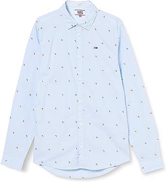 Tommy Hilfiger TJM Novel Dobby Shirt Camisa para Hombre
