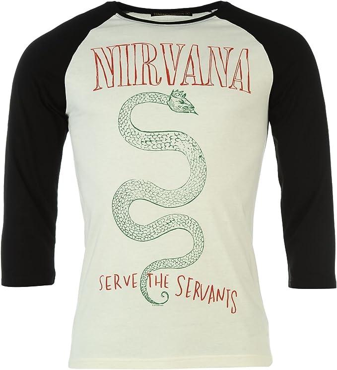 Official Kinder Band Nirvana T-Shirt Rundhals