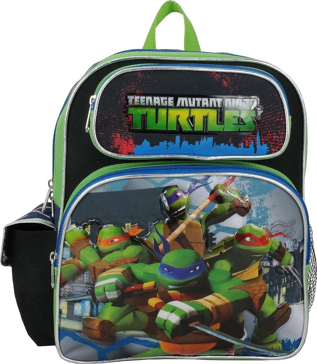 """Ruz Teenage Mutant Ninja Turtles Toddler 12"""" Backpack …"""