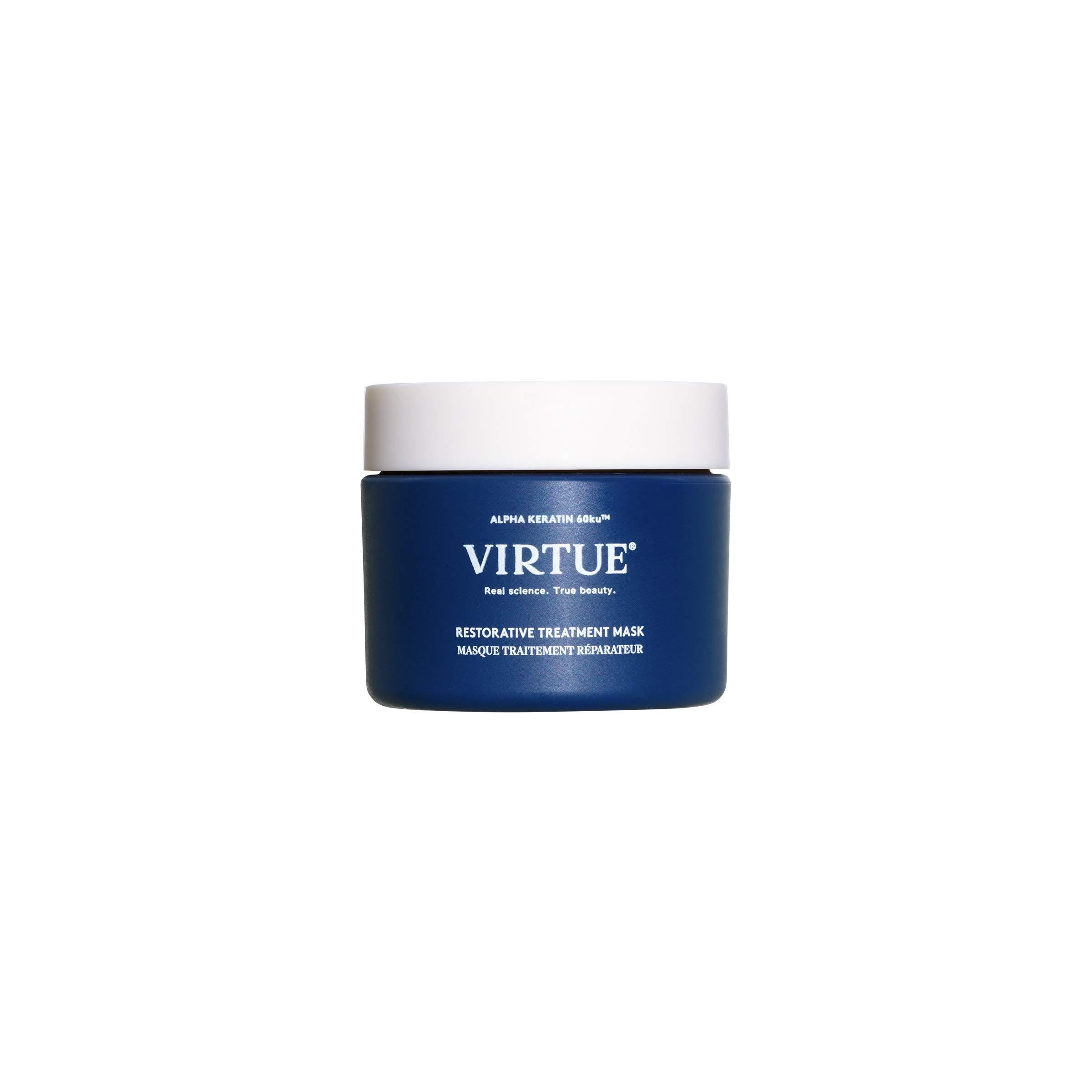 VIRTUE Restorative Treatment Mask 1.7 FL OZ   Rebuilds, Strengthens, Silkens  For Silky, Soft Hair by virtue