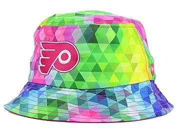 Philadelphia Flyers NHL New Era Youth Gem Bucket Mulit-Coloured Hat ... c1394d7f317