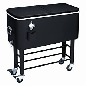 Rio Brands Entertainer Rolling Party Cooler