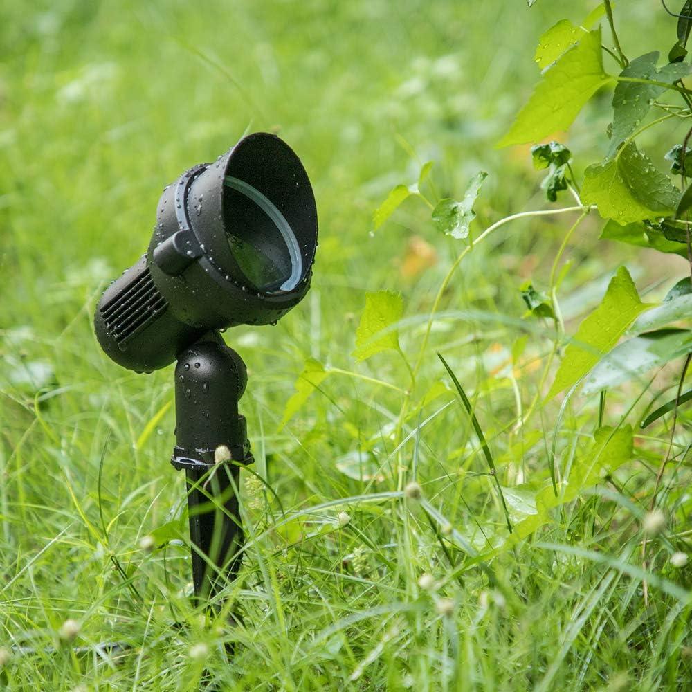 Outdoor Garden Spike Spot Light with GU10 Holder Pack of 2