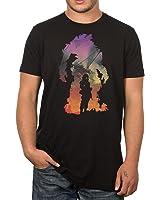 Titanfall Protector Men's Short Sleeve Black Tee Shirt X-Large