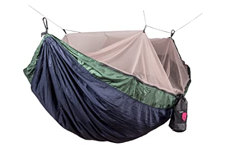 Grand Trunk Skeeter Beeter Pro Mosquito Hammock: Portable Bug Prevention Hammock With Carabiners And Hanging Kit   Perfect For Outdoor Adventures, Backpacking, And Camping Trips by Grand Trunk