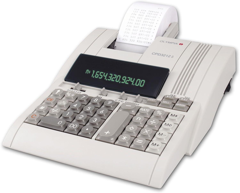 Olympia 946776005 CPD 3212T Calculadora de mesa: Amazon.es ...