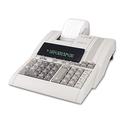 Olympia 946776005 CPD 3212T Calculadora de mesa