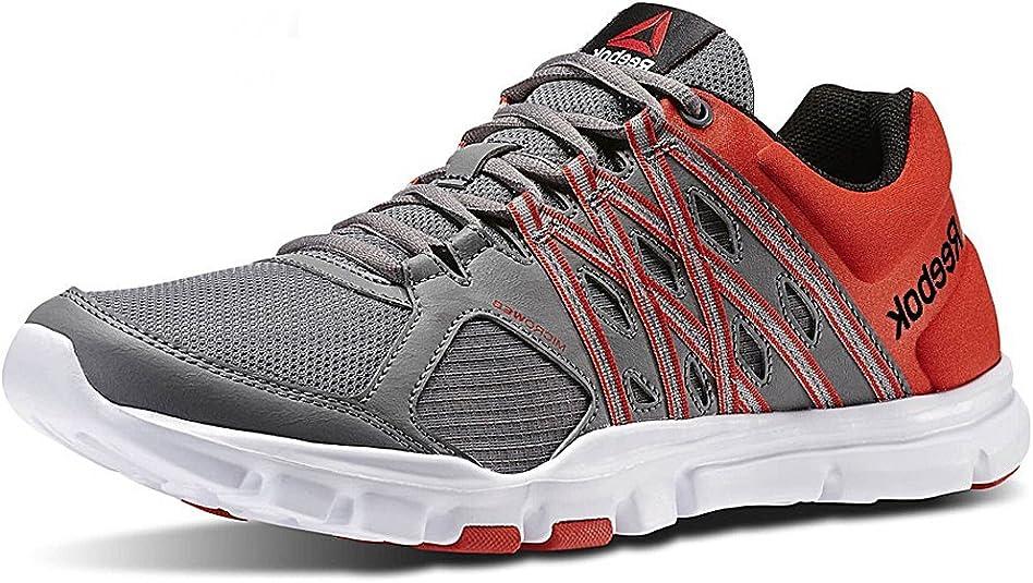 Reebok Hombre Your Flex Train 8.0 unidad Guantes, color gris, talla 50 EU: Amazon.es: Zapatos y complementos