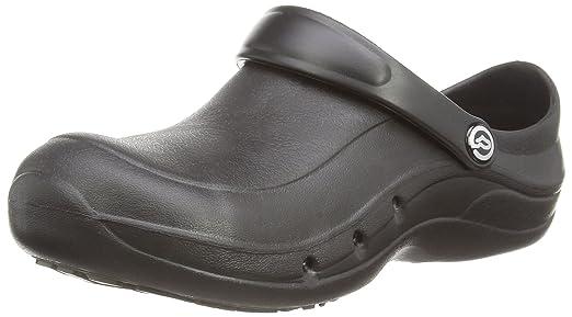 Toffeln - Zapatillas para hombre, color negro, talla 4 UK