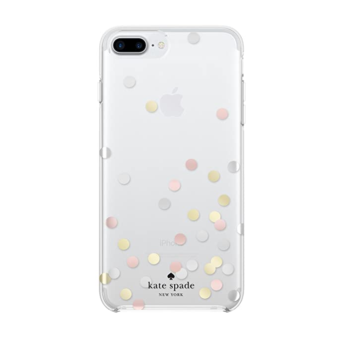 pretty nice c5170 23ed7 Kate Spade New York Phone Case | For Apple iPhone 8 Plus, iPhone 7 Plus,  iPhone 6S Plus, and iPhone 6 Plus | Protective Phone Cases with Clear  Design ...