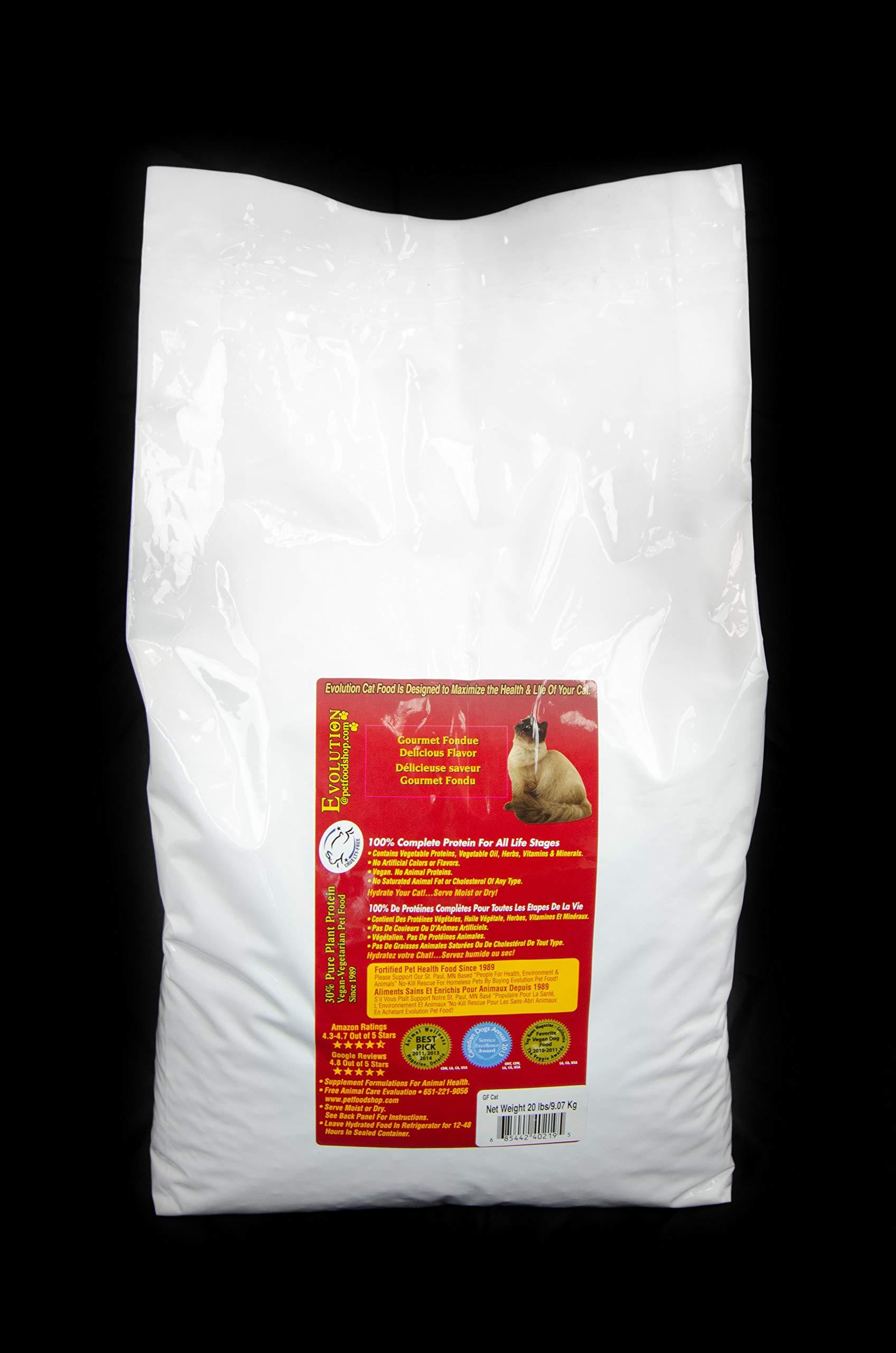Evolution Gourmet Fondue Cat Food 20 lb Bag by Evolution Diet