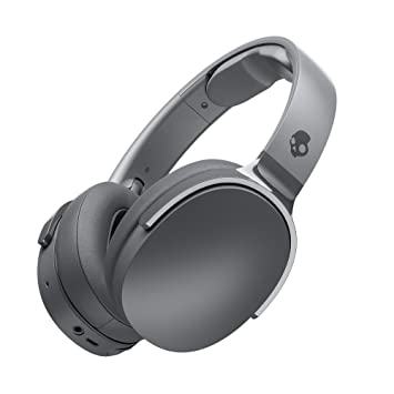 Skullcandy S6HTW-K625 Wireless Headphones (Gray) Over-Ear Headphones at amazon