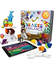 Sensible object Beasts of Balance Digital Tabletop Hybrid Stacking Family Game