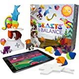 Sensible Object Beasts of Balance - A Digital Tabletop Hybrid Family Stacking Game For Ages 7+ (BOB-COR-WW-1/GEN)