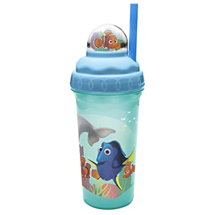 0b6d751e04 Amazon.com | Zak Designs Finding Dory 12 oz. Plastic Tumblers, Nemo:  Tumblers & Water Glasses