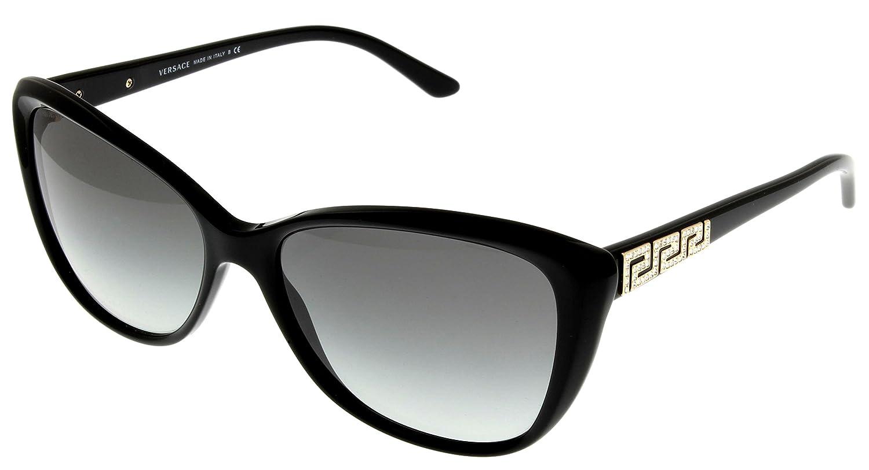 859cfcef94d Versace Sunglasses Women Black Butterfly VE4264B GB1 11  Amazon.co.uk   Clothing