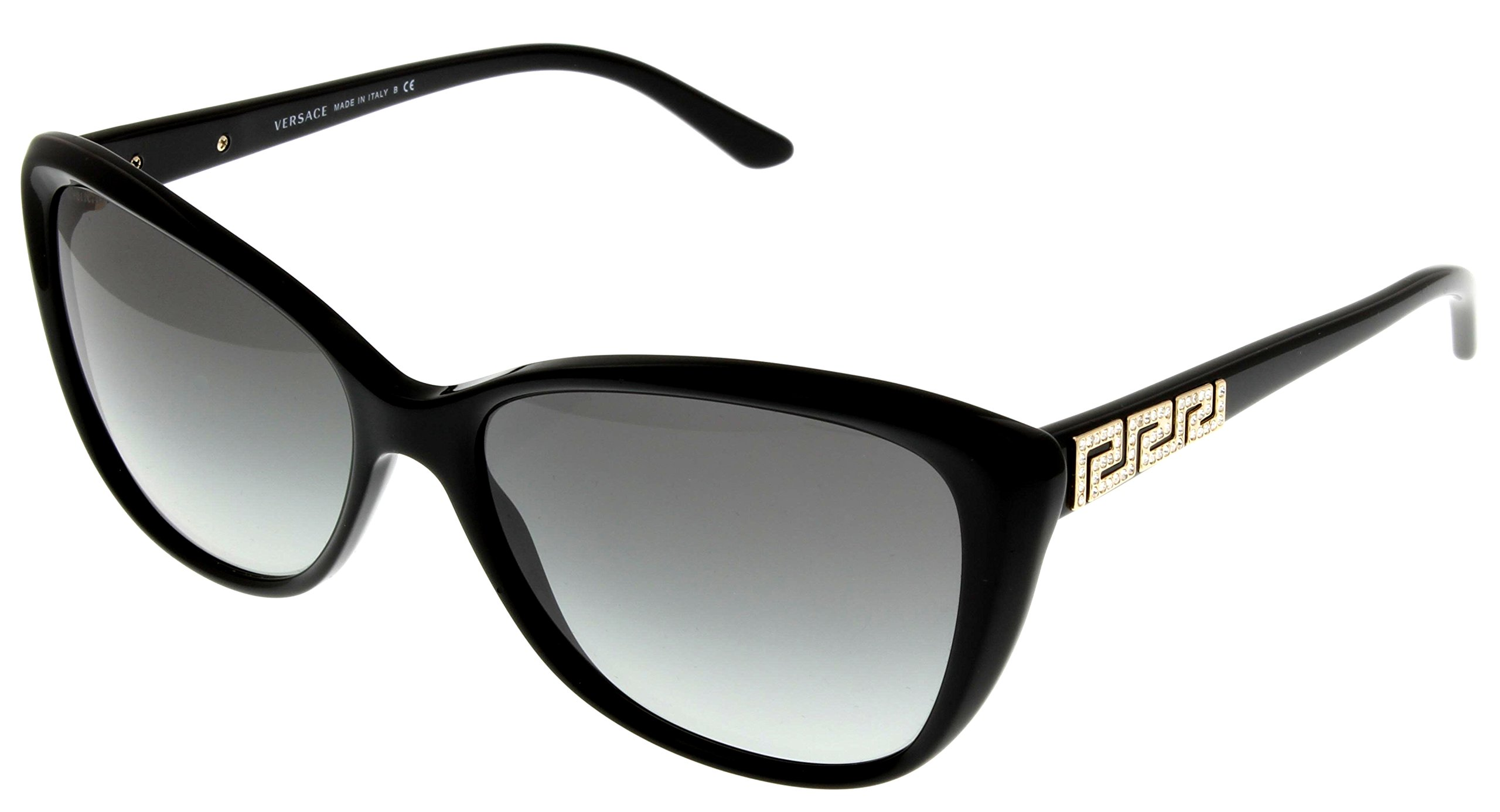 Versace Sunglasses Women Black Butterfly VE4264B GB1/11