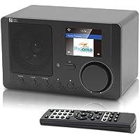 Ocean Digital Internet Radio WR-210CB WiFi Wireless Bluetooth Desktop Radio Colour Display - Black