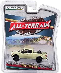 Greenlight 35150-D Ford F-150 schwarz All Terrain Maßstab 1:64 NEU!°