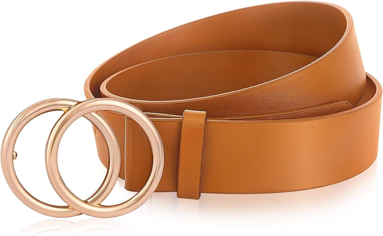 Women's Leather Belts Waist...