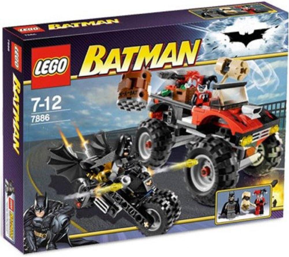 B000WO7WLO LEGO Batman The Batcycle: Harley Quinn's Hammer Truck 718dy9X34vL.SL1001_