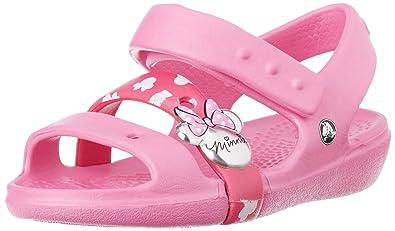 052dec9a607f crocs Keeley Minnie Mouse Sandal (Toddler Little Kid)